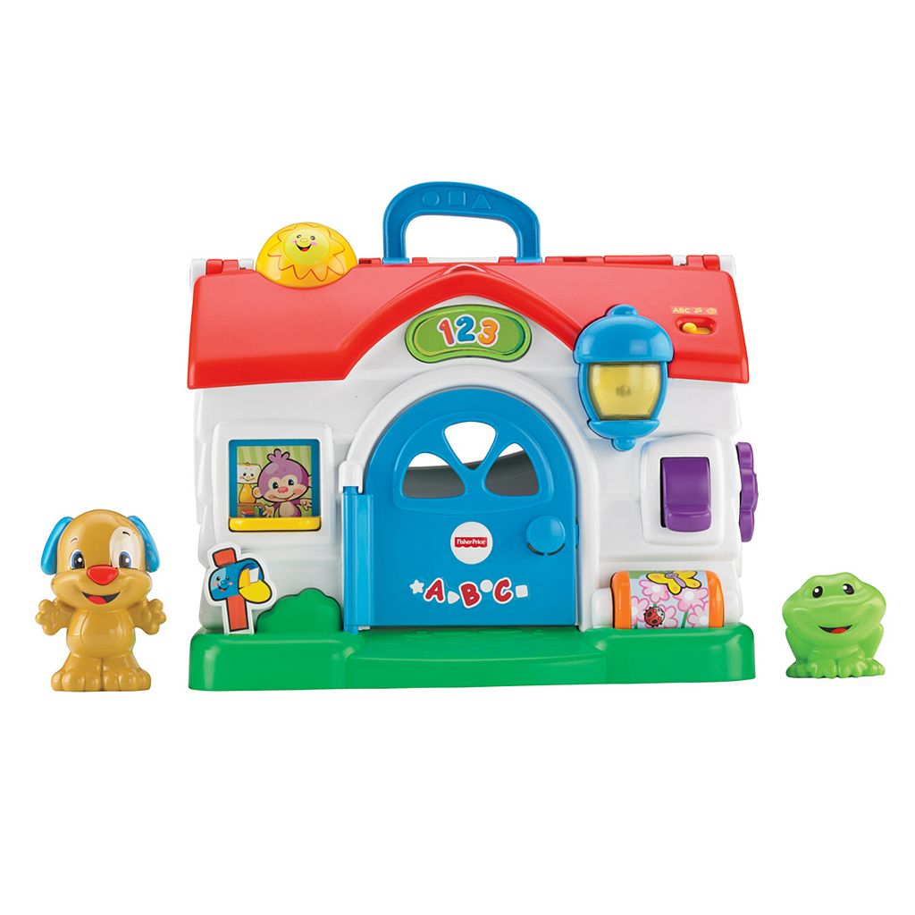 Fisher-Price Laugh and Learn Puppy's Activity Home