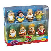 Disney Snow White & the Seven Dwarfs Little People Figure Set by Fisher-Price