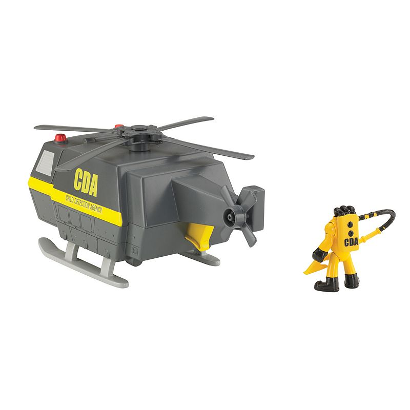 Disney / Pixar Monsters University Imaginext Child Detection Agency Copter by Fisher-Price (Multicolor)