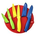 Fiesta 7-pc. Cutlery Set with Cutting Board