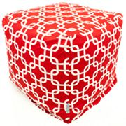 Majestic Home Goods Links Indoor Outdoor Small Cube Ottoman