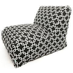 Majestic Home Goods Links Indoor Outdoor Beanbag Chair Lounger