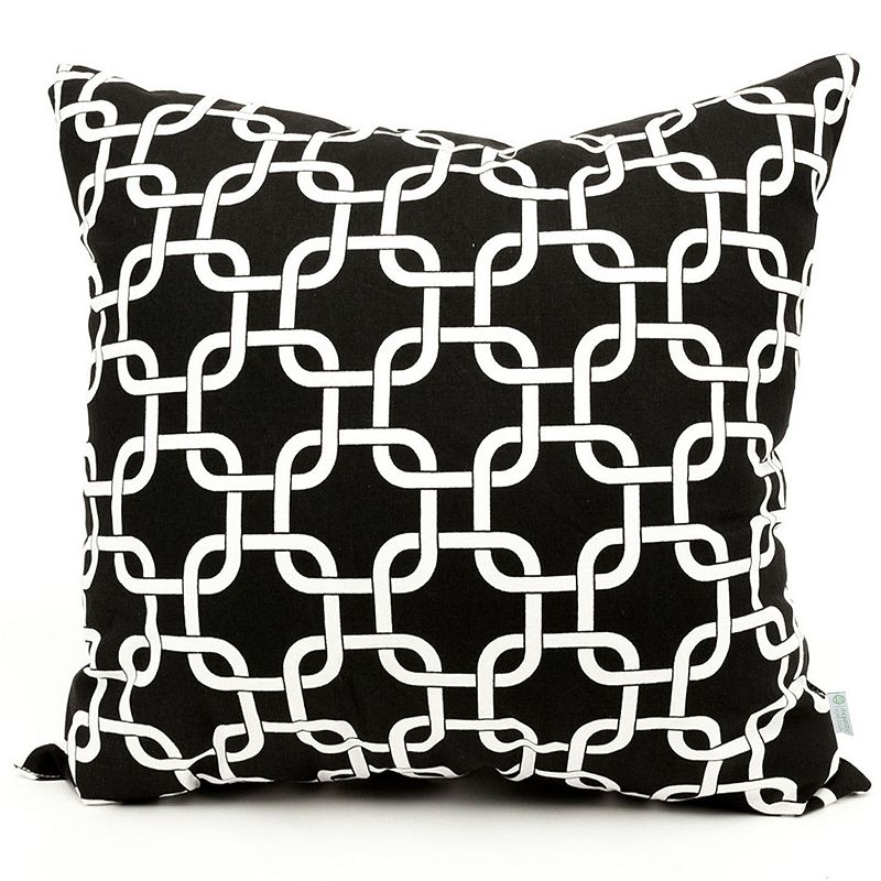 Kohls Black Decorative Pillow : MAJESTIC HOME GOODS LINKS DECORATIVE LARGE PILLOW