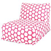 Majestic Home Goods Polka Dot Beanbag Chair Lounger