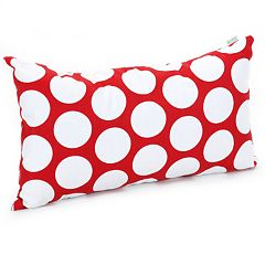 Majestic Home Goods Hot Polka Dot Small Throw Pillow