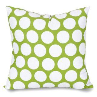Majestic Home Goods Polka-Dot Large Throw Pillow
