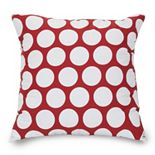 Majestic Home Goods Polka-Dot Large Throw Pillow