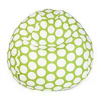Majestic Home Goods Polka-Dot Small Beanbag