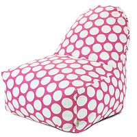 Majestic Home Goods Polka-Dot Kick-It Chair