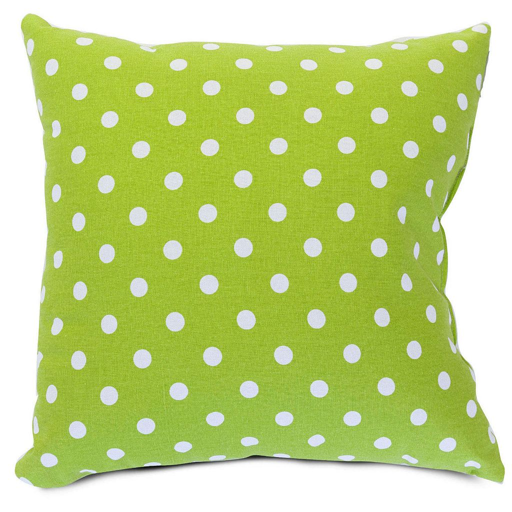 Majestic Home Goods Big Polka-Dot Decorative Throw Pillow
