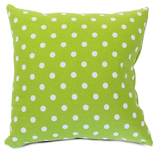 Majestic Home Goods Big Polka-Dot Decorative Throw Pillow
