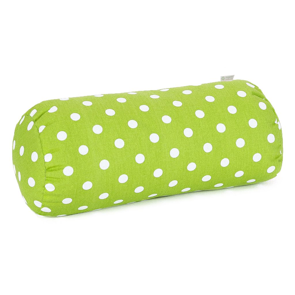 Majestic Home Goods Polka-Dot Bolster Pillow