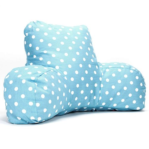 Majestic Home Goods Mini Polka-Dot Reading Pillow