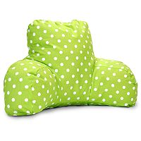 Majestic Home Goods Mini Polka-Dot Reading Pillow