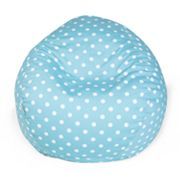 Majestic Home Goods Polka Dot Small Beanbag Chair