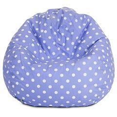 Majestic Home Goods Polka Dot Small Beanbag Chair