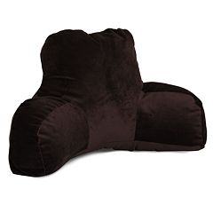 Majestic Home Goods Faux-Suede Reading Pillow