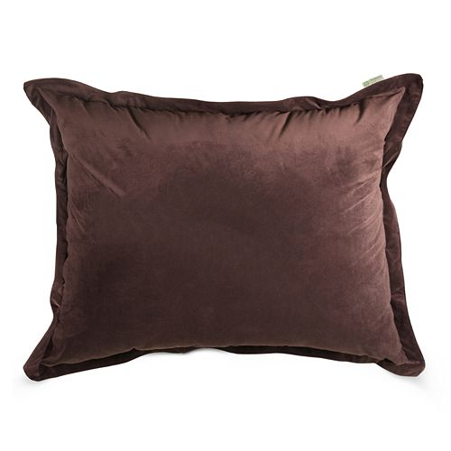 Majestic Home Goods Faux-Suede Floor Pillow