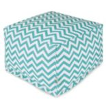 Majestic Home Goods Chevron Large Ottoman