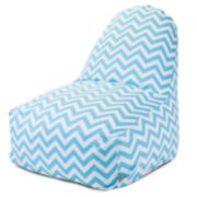 Majestic Home Goods Chevron Bright Indoor Outdoor Kick-It Chair