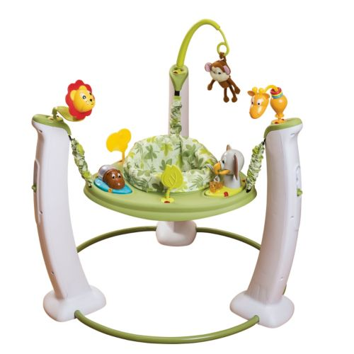 Evenflo ExerSaucer Jump and Learn Jumper - Wild Life Adventure