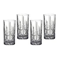 Marquis by Waterford Sparkle 4 pc Highball Glass Set