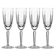 Marquis by Waterford Sparkle 4 pc Flute Glass Set
