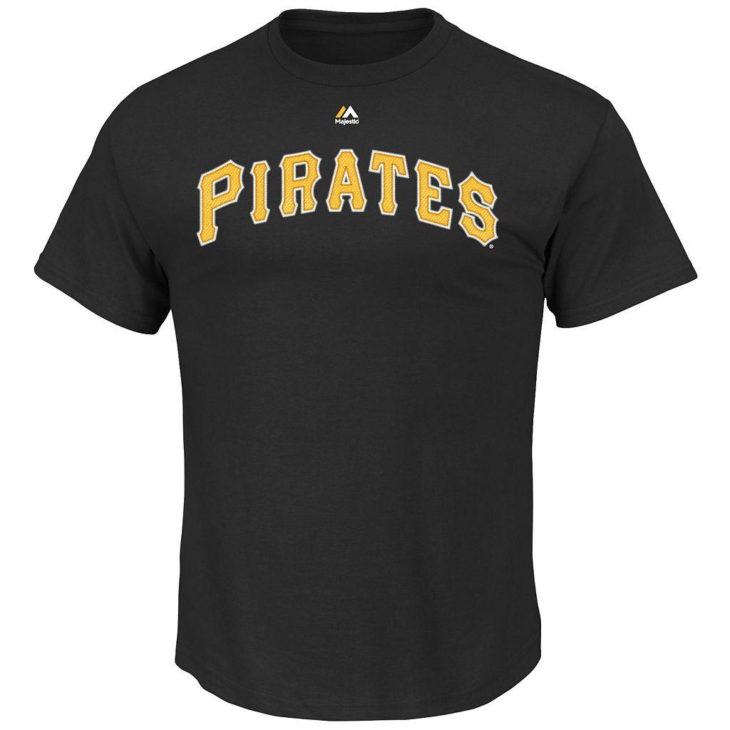 Men's Majestic Pittsburgh Pirates Andrew McCutchen Tee