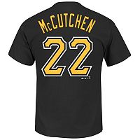Men's Majestic Pittsburgh Pirates Andrew McCutchen Tee