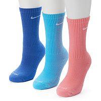 Nike 3-pk. Dri-FIT Cushioned Crew Socks
