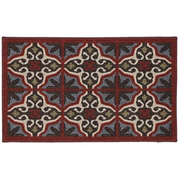 Edenton Crewel Vintage Tile Rug - 20