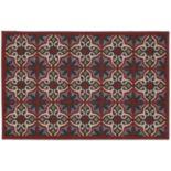 "Edenton Crewel Vintage Tile Rug - 30"" x 46"""