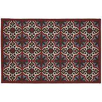 Edenton Crewel Vintage Tile Rug - 30