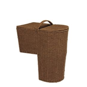 Household Essentials Stairstep Storage Basket