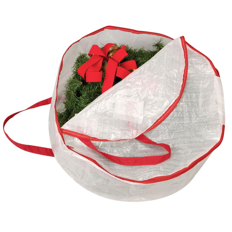 wreath storage bag - Wreath Storage Box