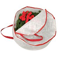 Household Essentials 30-in. Wreath Storage Bag