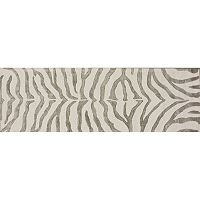nuLOOM Earth Irridescent Zebra Rug Runner - 2'6