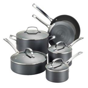 Circulon Genesis 10-pc. Nonstick Hard-Anodized Cookware Set