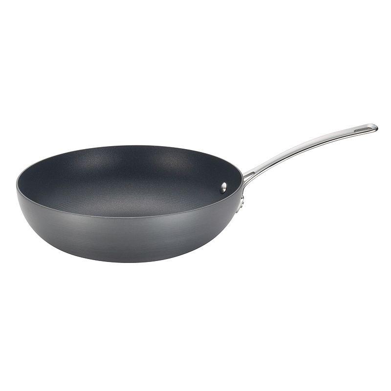 Circulon Genesis 12-in. Nonstick Hard-Anodized Stir Fry Pan