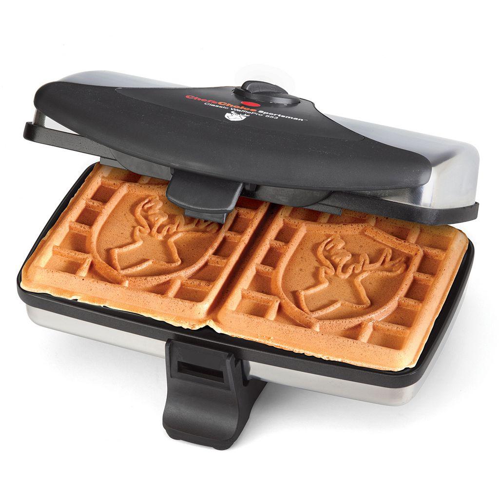 Chef'sChoice M853 Deer Head Classic WafflePro Wafflemaker