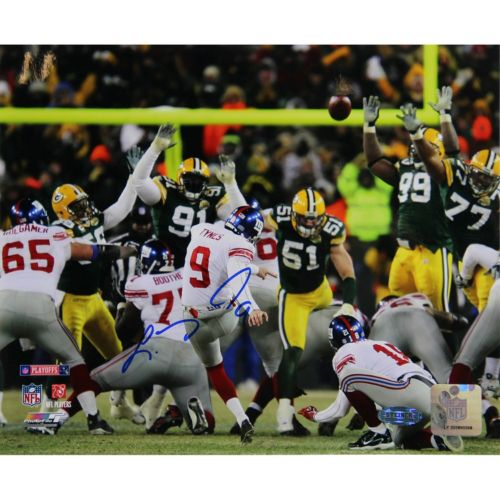 "Steiner Sports Lawrence Tynes vs. Green Bay 8"" x 10"" Signed Photo"
