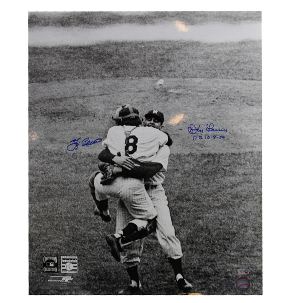 Steiner Sports Don Larsen & Yogi Berra Perfect Game 16'' x 20'' Signed Photo
