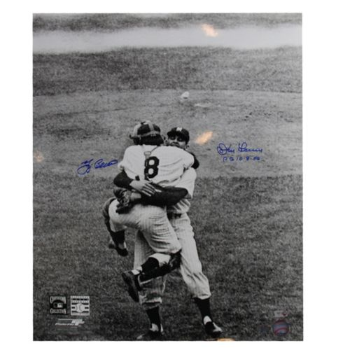 "Steiner Sports Don Larsen & Yogi Berra Perfect Game 16"" x 20"" Signed Photo"