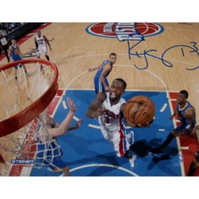 Steiner Sports Rodney Stuckey at the Basket 8'' x 10'' Signed Photo