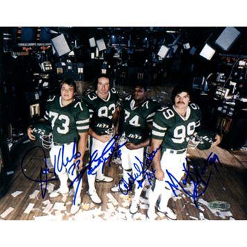 Steiner Sports New York Sack Exchange 8'' x 10'' Signed Photo