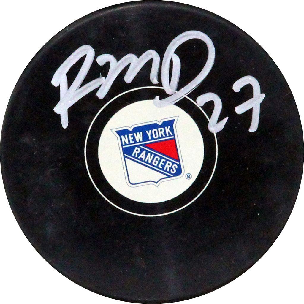 Steiner Sports Ryan McDonagh New York Rangers Autographed Hockey Puck