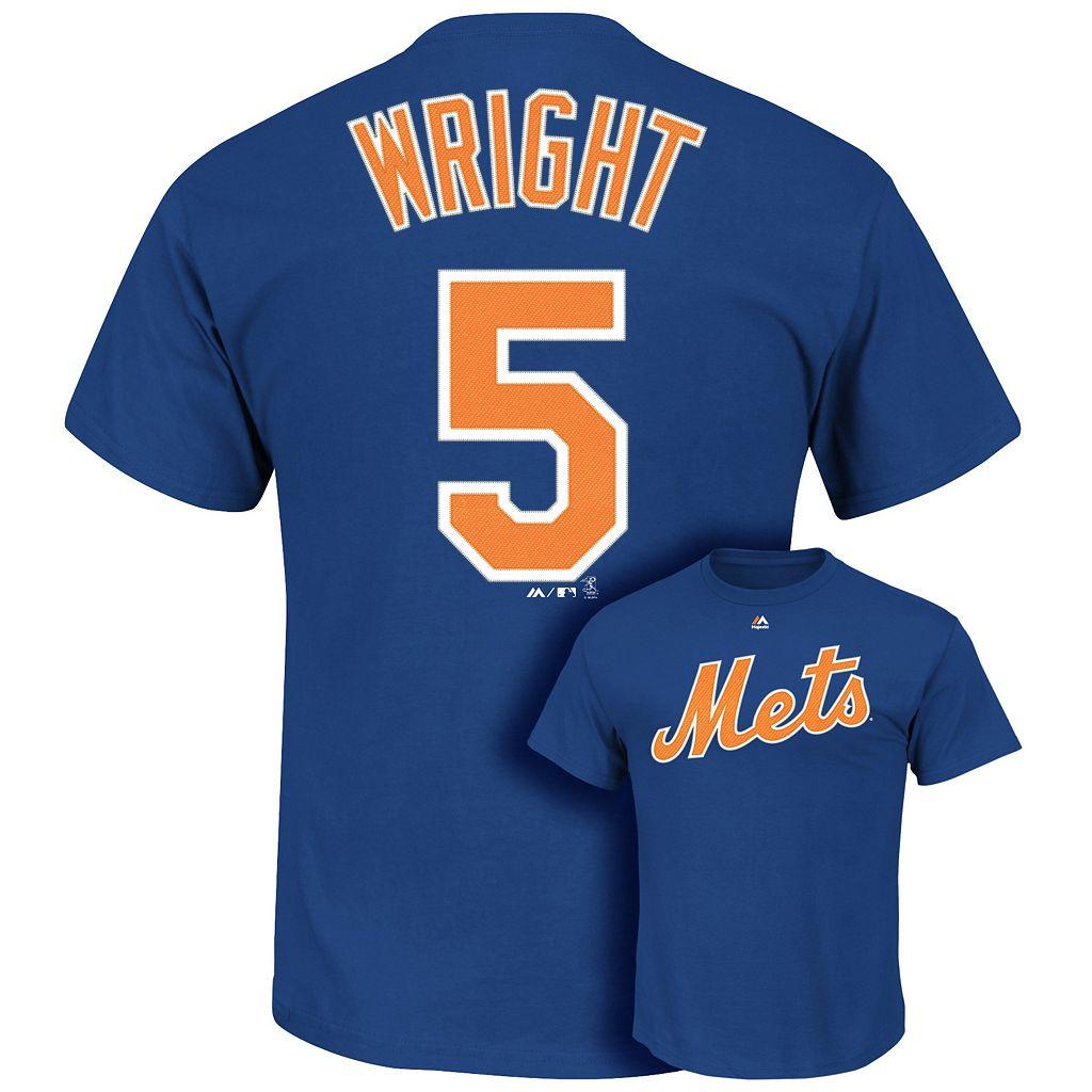 Majestic New York Mets David Wright Tee - Men