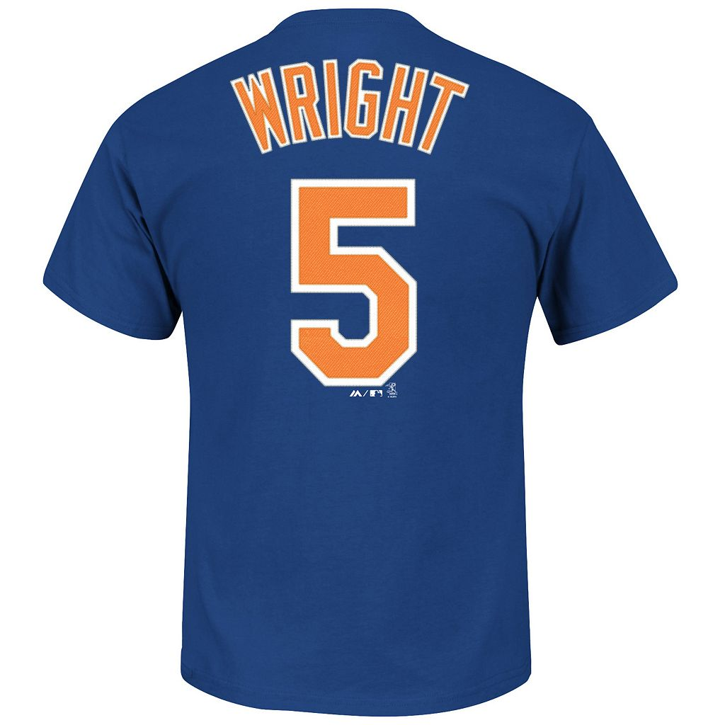Majestic New York Mets David Wright Tee - Men
