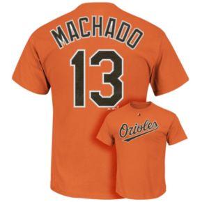 Men's Majestic Baltimore Orioles Manny Machado Tee