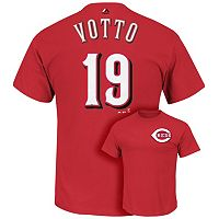 Men's Majestic Cincinnati Reds Joey Votto Tee